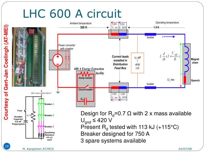 LHC 600 A circuit