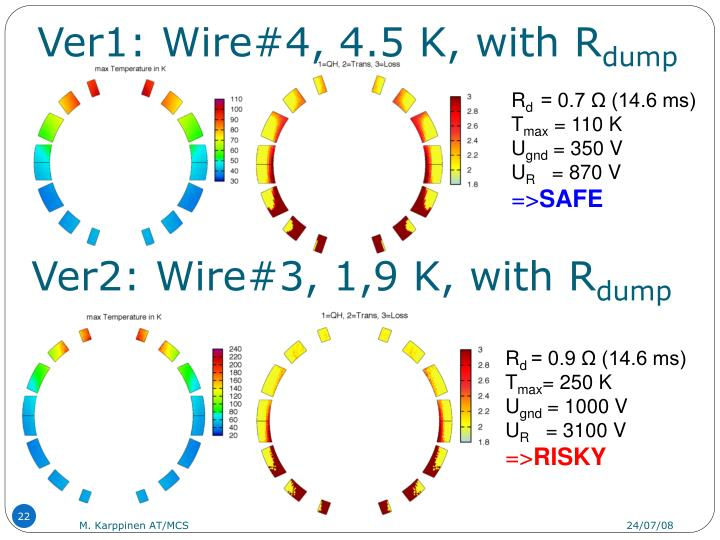 Ver1: Wire#4, 4.5 K, with R