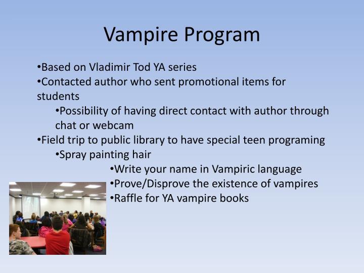 Vampire Program