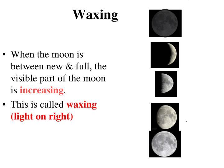 Waxing