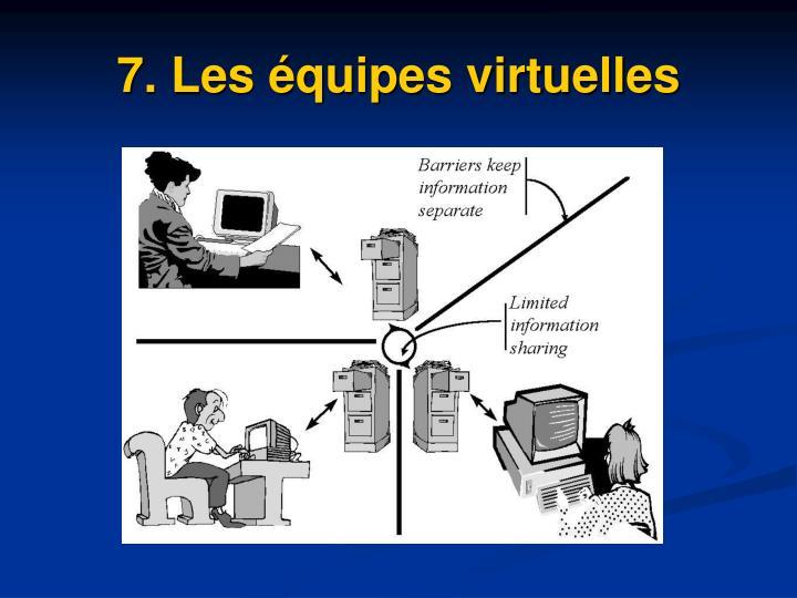 7. Les équipes virtuelles