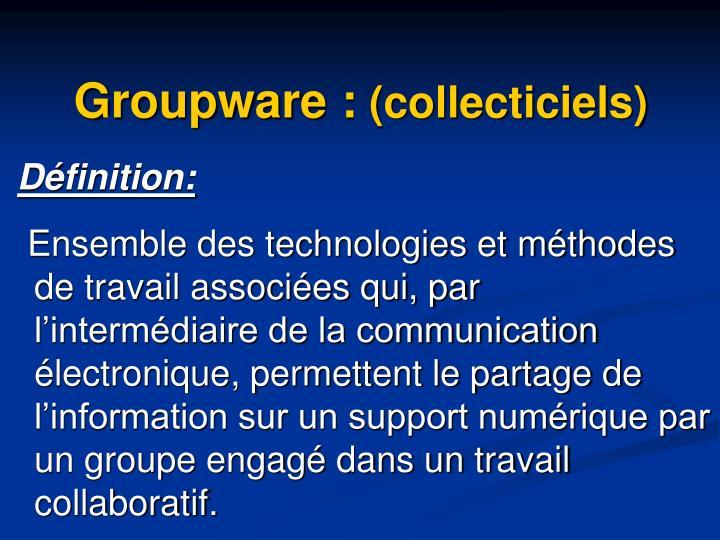 Groupware: