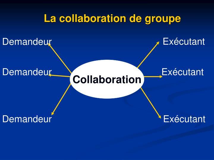 La collaboration de groupe