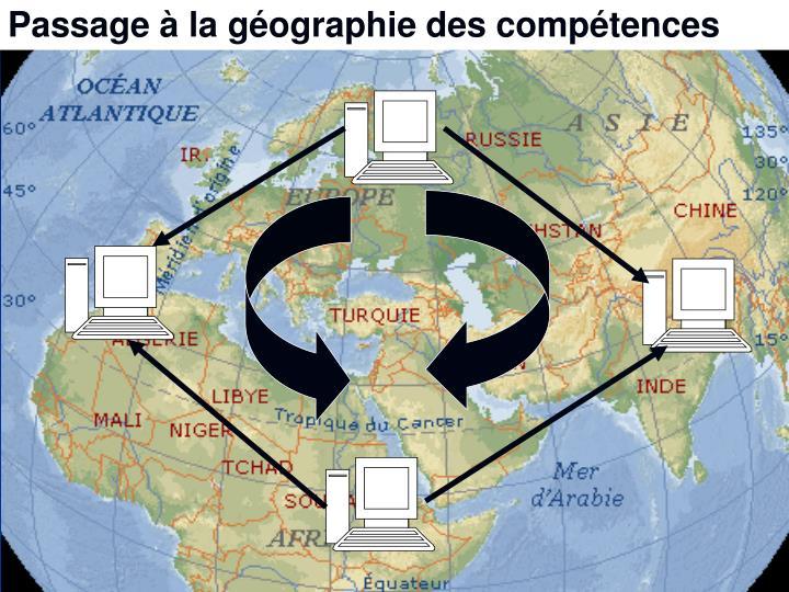 Passage à la géographie des compétences