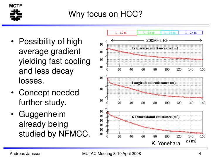 Why focus on HCC?