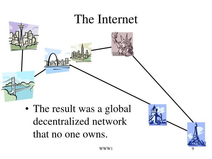 The result was a global decentralized network that no one owns.