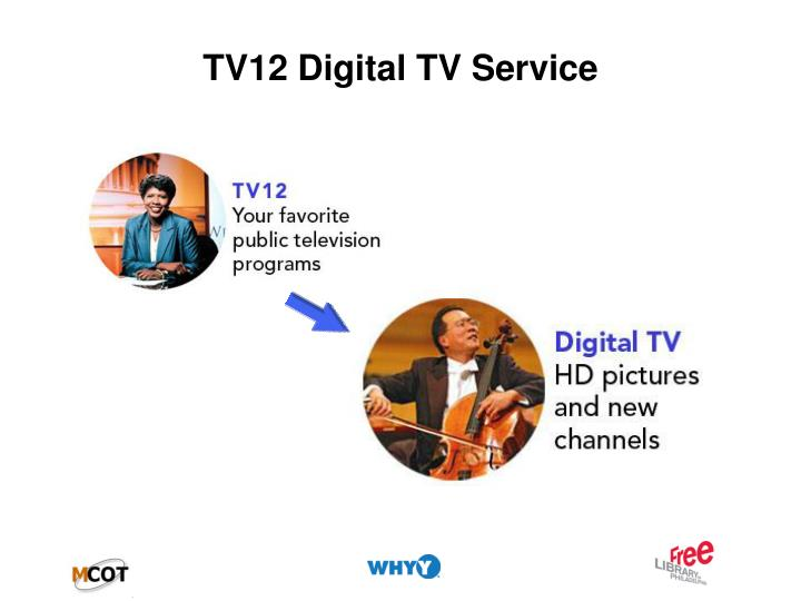 TV12 Digital TV Service