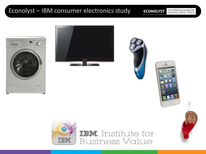 Econolyst – IBM consumer electronics study