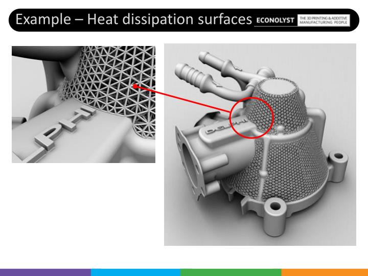 Example – Heat dissipation surfaces