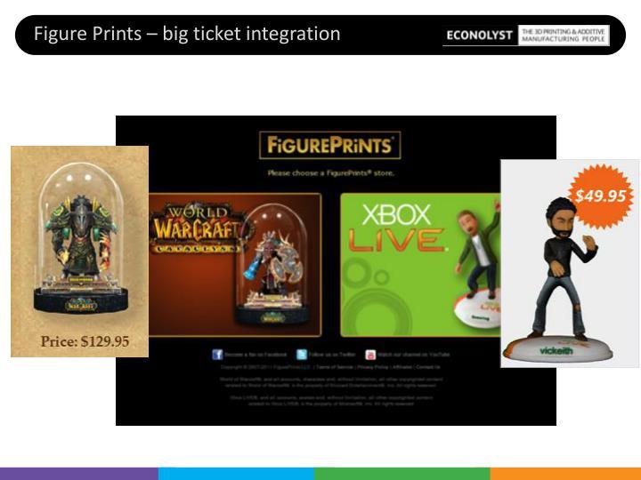 Figure Prints – big ticket integration