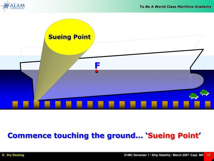 Sueing Point