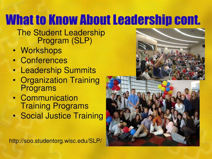 What to Know About Leadership cont.