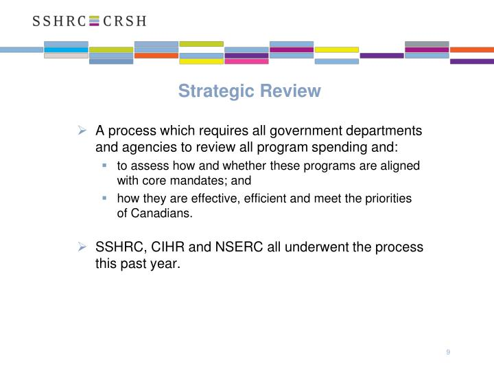 Strategic Review