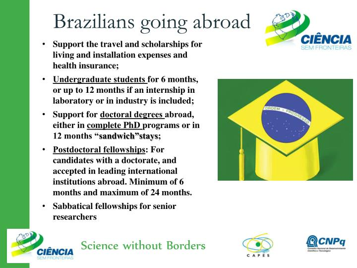Brazilians going abroad