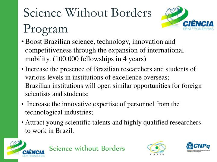 Science Without Borders Program