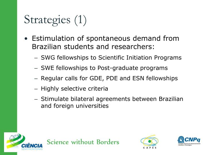 Strategies (1)