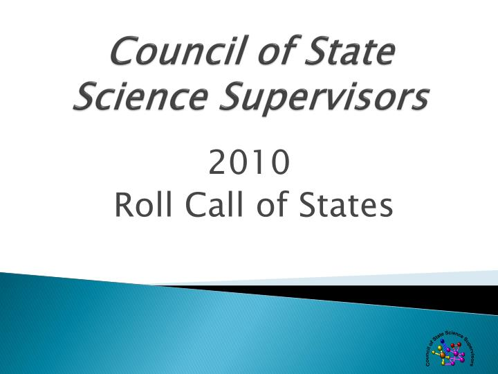 Council of State Science Supervisors
