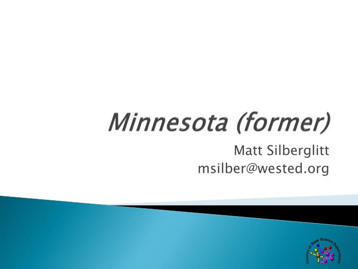 Minnesota (former)