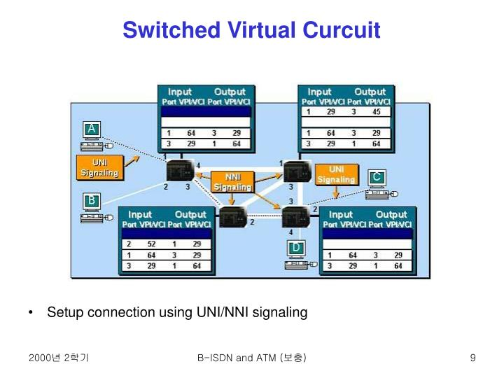 Switched Virtual Curcuit