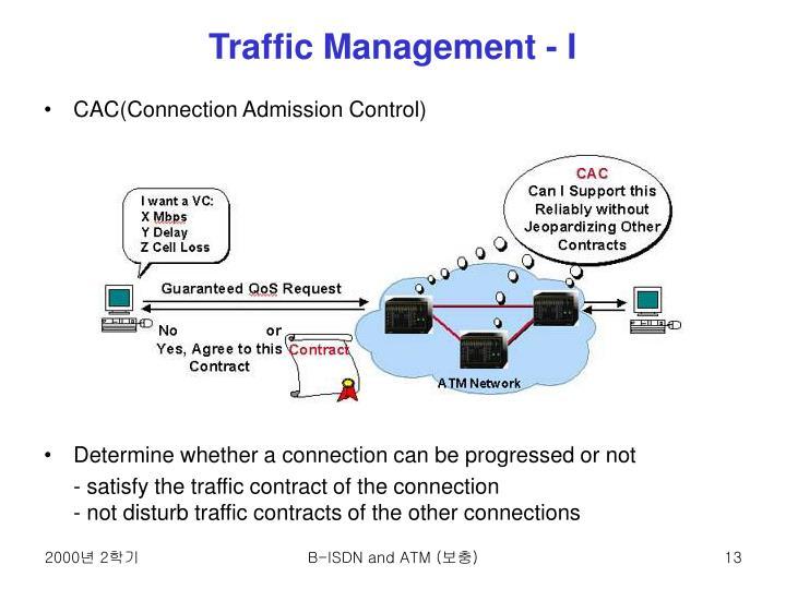 Traffic Management - I