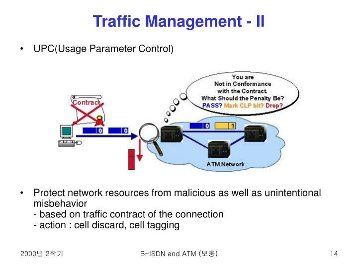 Traffic Management - II
