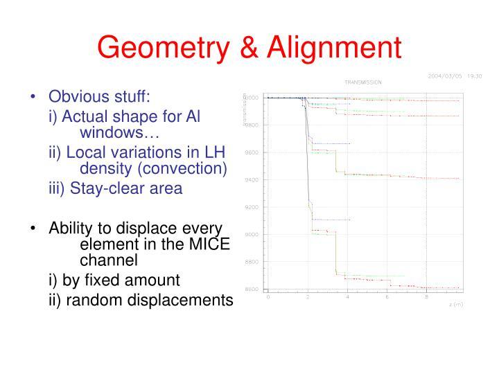 Geometry & Alignment