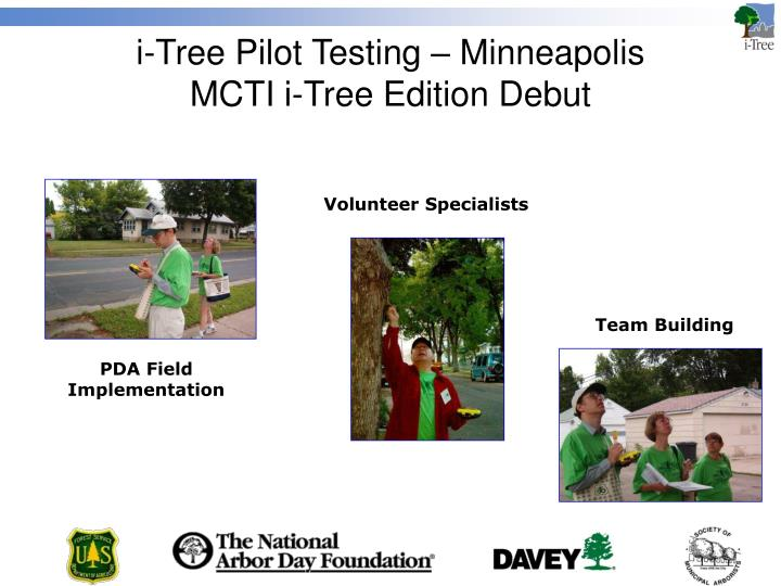 i-Tree Pilot Testing – Minneapolis
