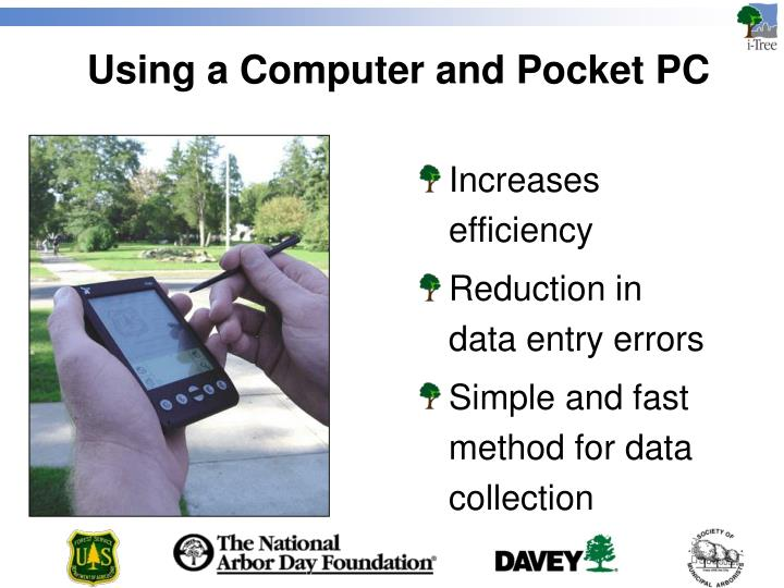 Using a Computer and Pocket PC
