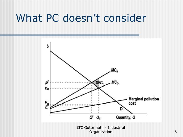 What PC doesn't consider