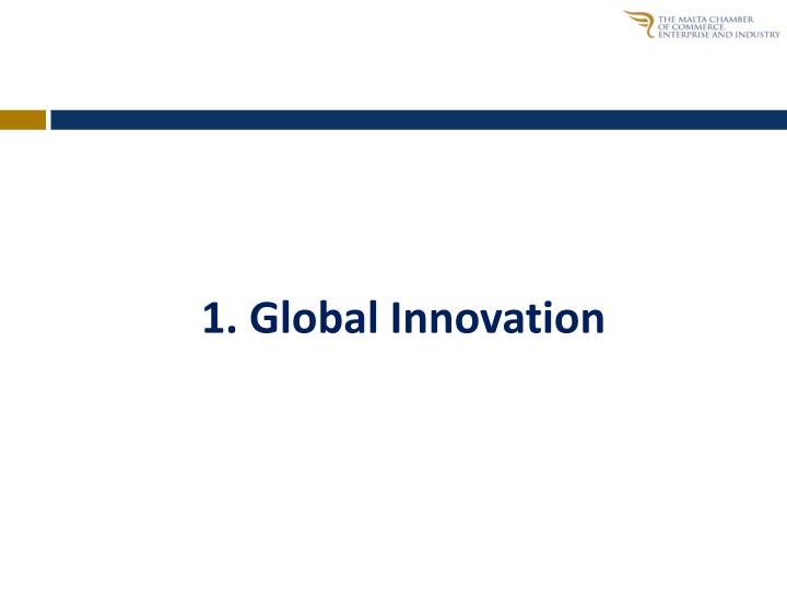 1 global innovation