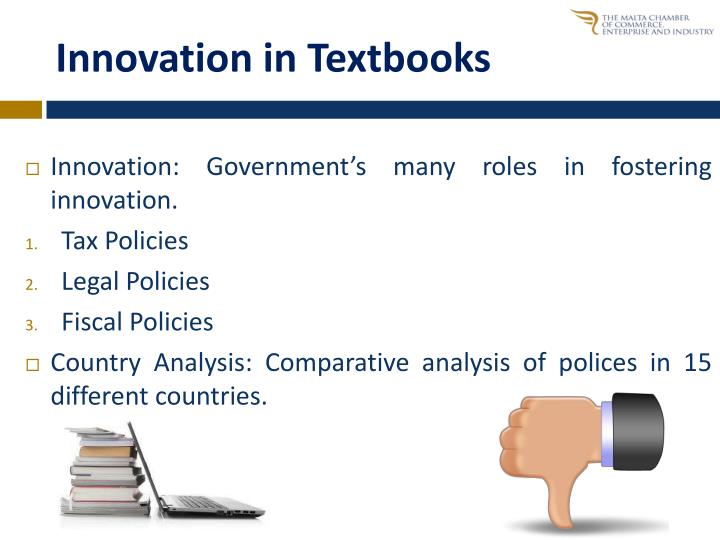 Innovation in Textbooks