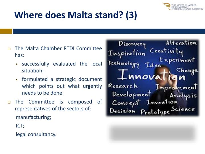 Where does Malta stand? (3)