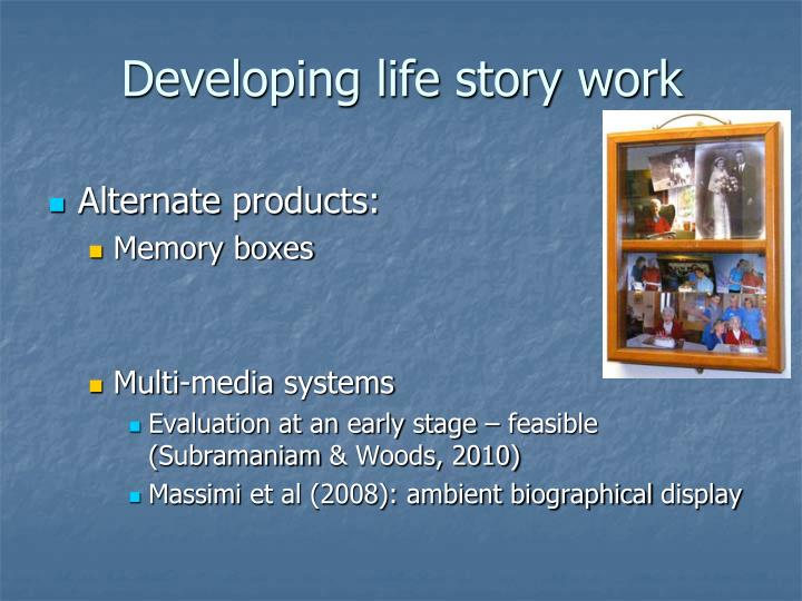 Developing life story work