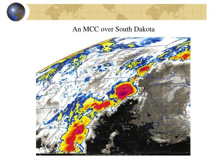 An MCC over South Dakota