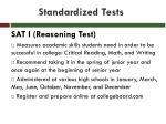 standardized tests1
