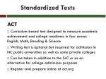standardized tests2