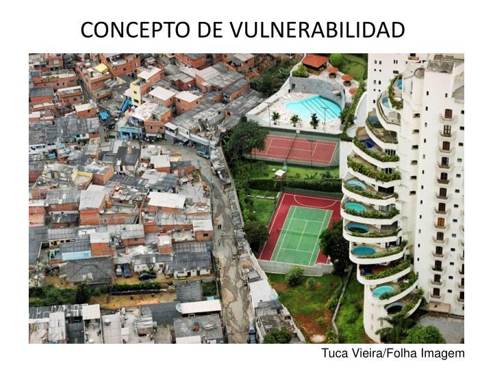 CONCEPTO DE VULNERABILIDAD