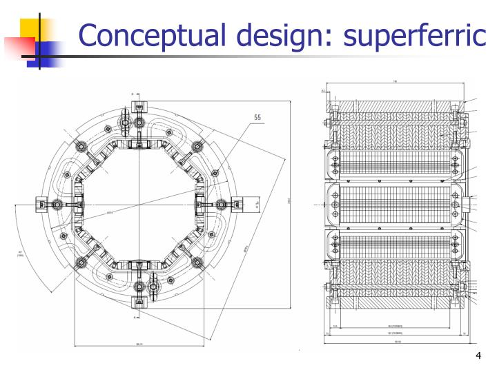 Conceptual design: superferric
