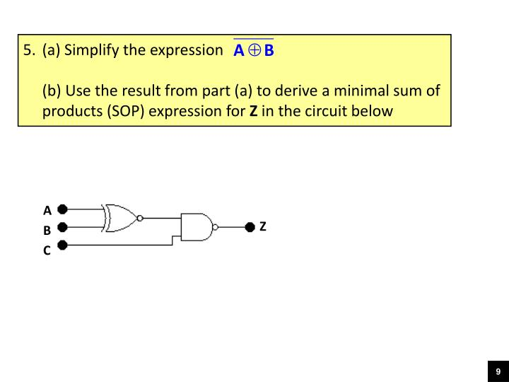 (a) Simplify the expression