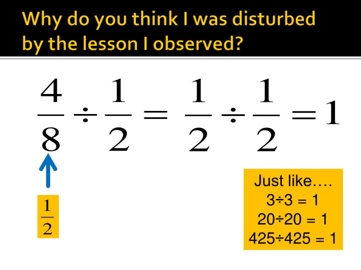 Why do you think I was disturbed by the lesson I observed?