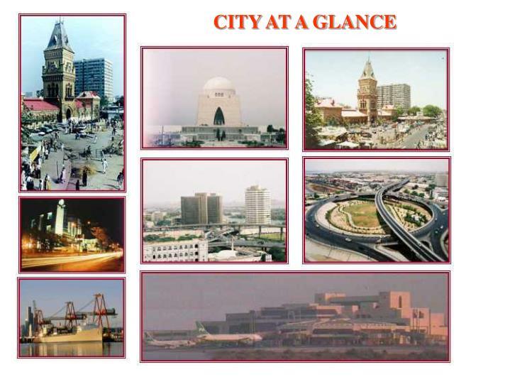 CITY AT A GLANCE