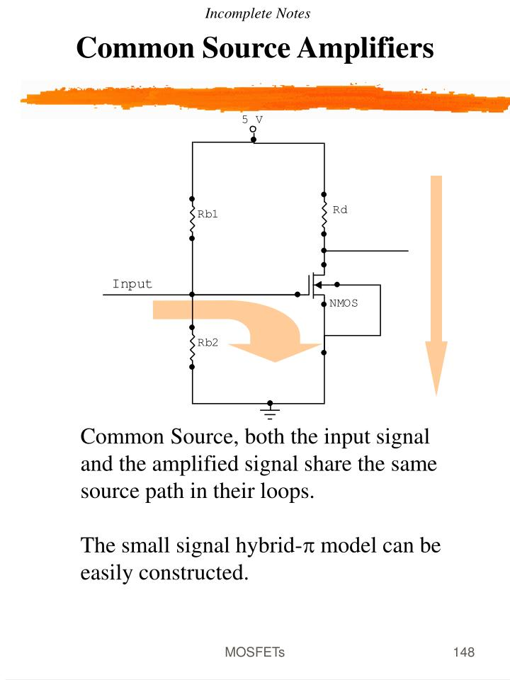 Common Source Amplifiers