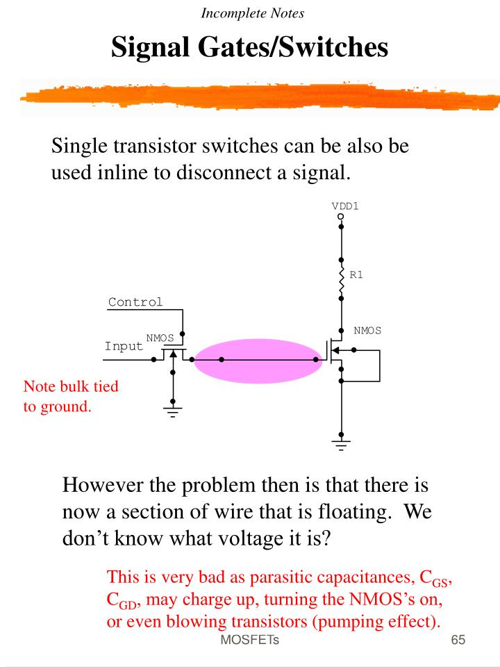 Signal Gates/Switches