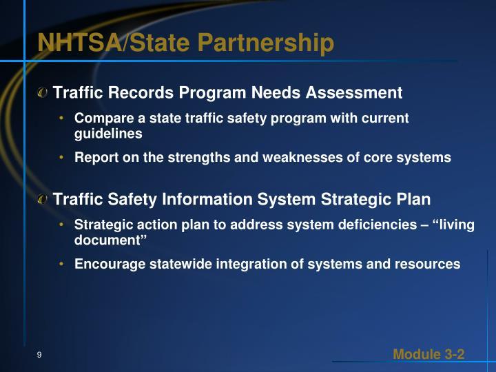 NHTSA/State Partnership