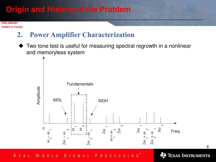 Origin and History of the Problem