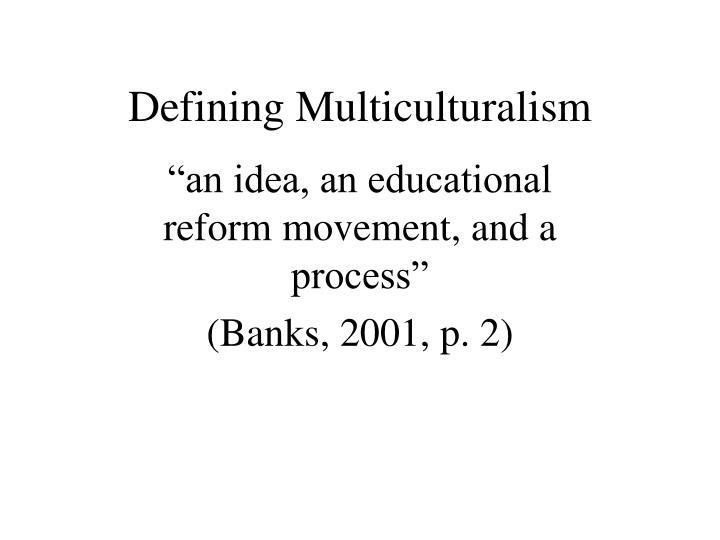 Defining Multiculturalism