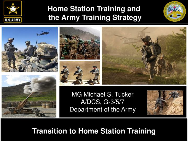 Home Station Training and