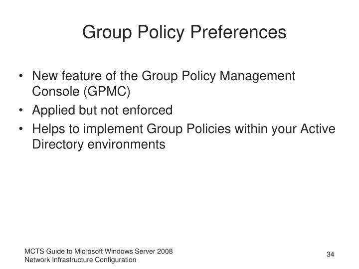 Group Policy Preferences