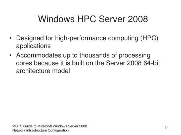 Windows HPC Server 2008