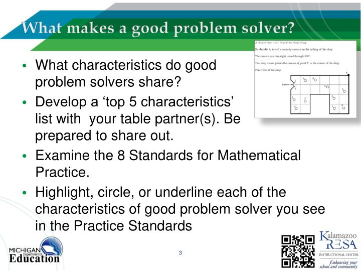 What makes a good problem solver?